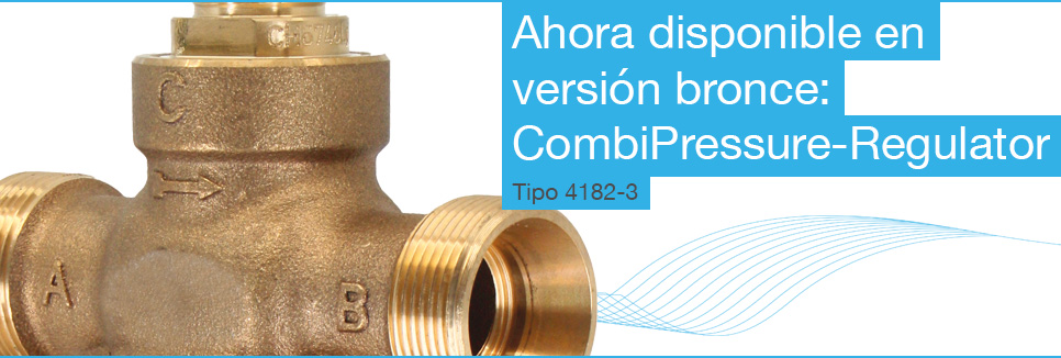 CombiPressure-Regulator tipo 4182-3